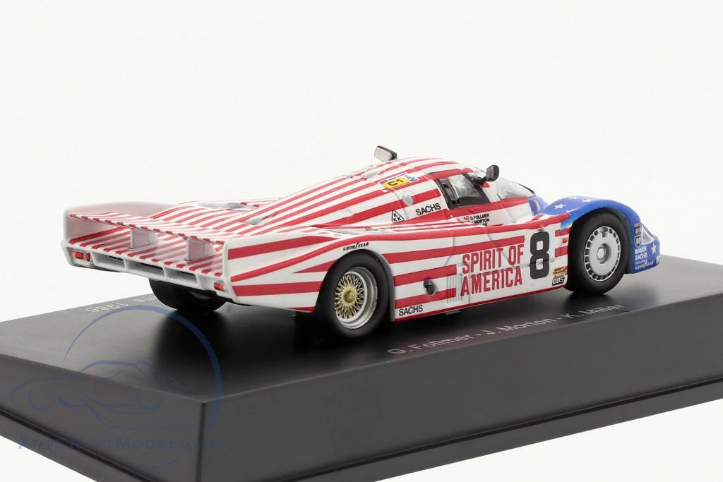 Porsche 956 #8 3rd 24h LeMans 1986 Follmer, Morton, Miller