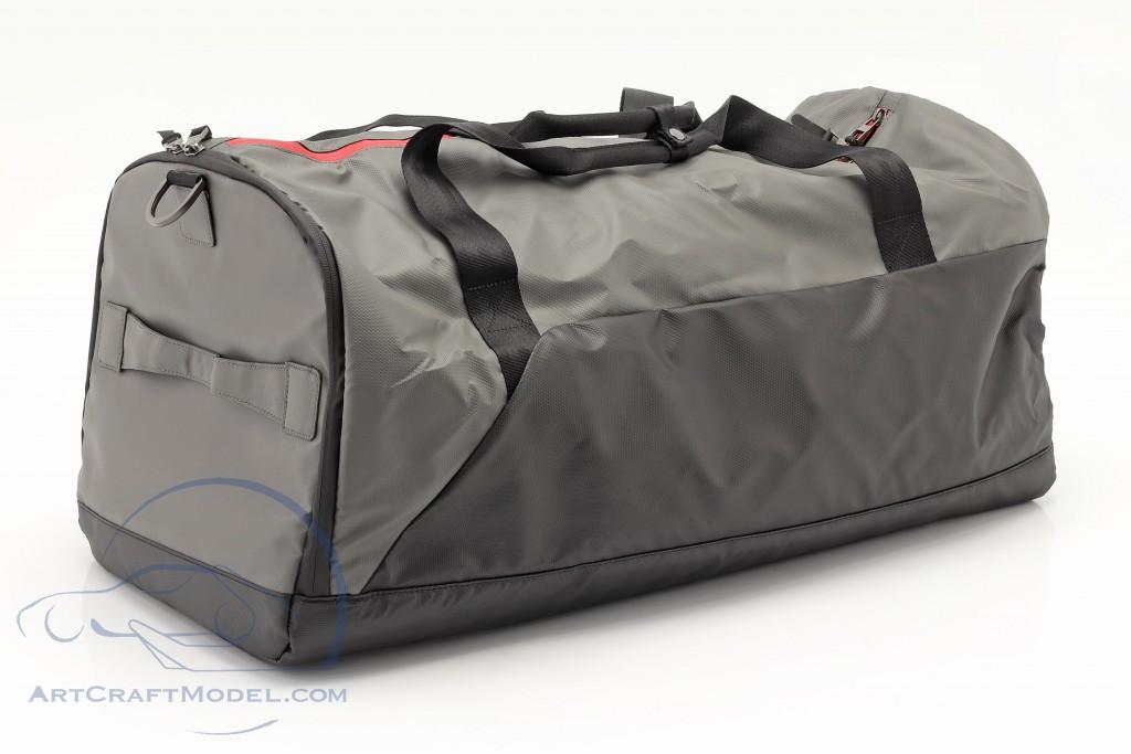 Porsche Travel bag ca. 65 x 35 x 30 cm grey / black / red