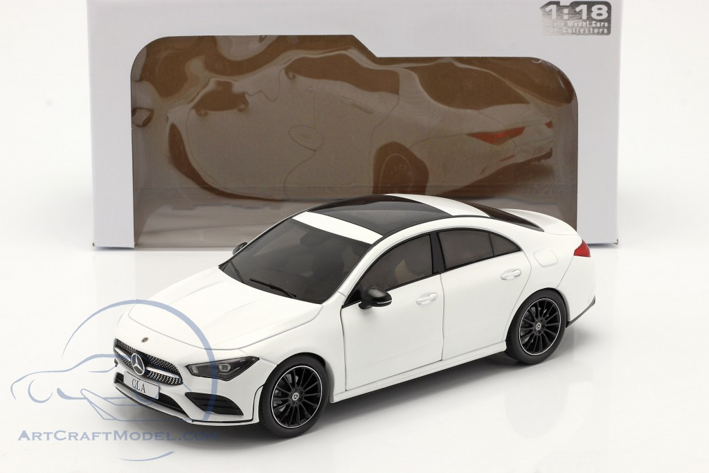 Mercedes-Benz CLA Coupe (C118) year 2019 white