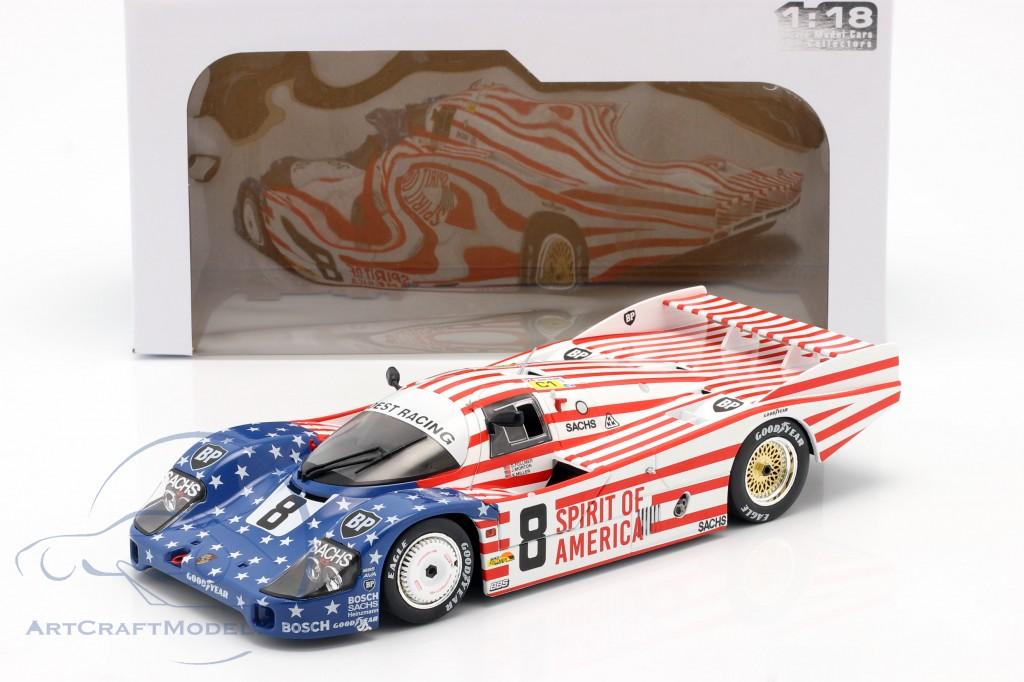 Porsche 956 LH #8 3rd 24h LeMans 1986 Follmer, Morton, Miller
