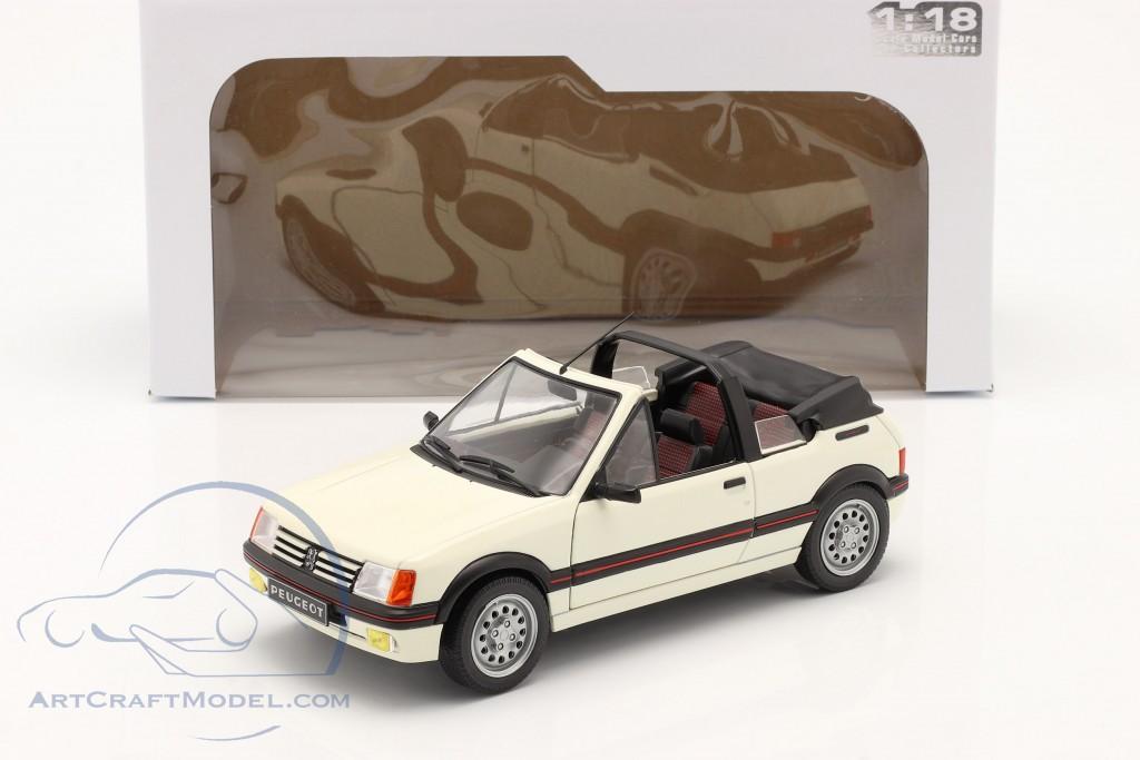 Peugeot 205 CTI MK1 Convertible  year 1989 white