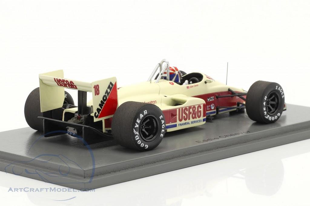 Eddie Cheever Arrows A10B #18 3rd Italian GP formula 1 1988