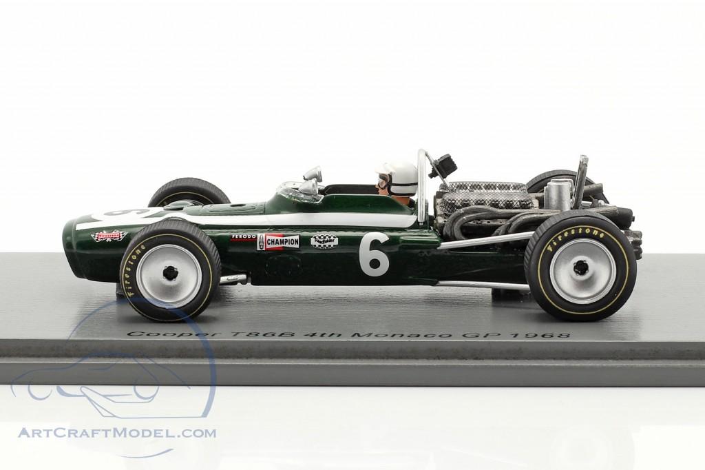 Ludovico Scarfiotti Cooper T86B #6 4th Monaco GP formula 1 1968