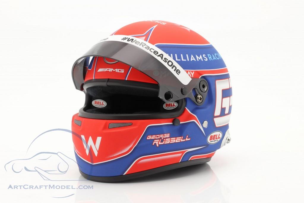 George Russell #63 Williams Racing formula 1 2021 helmet