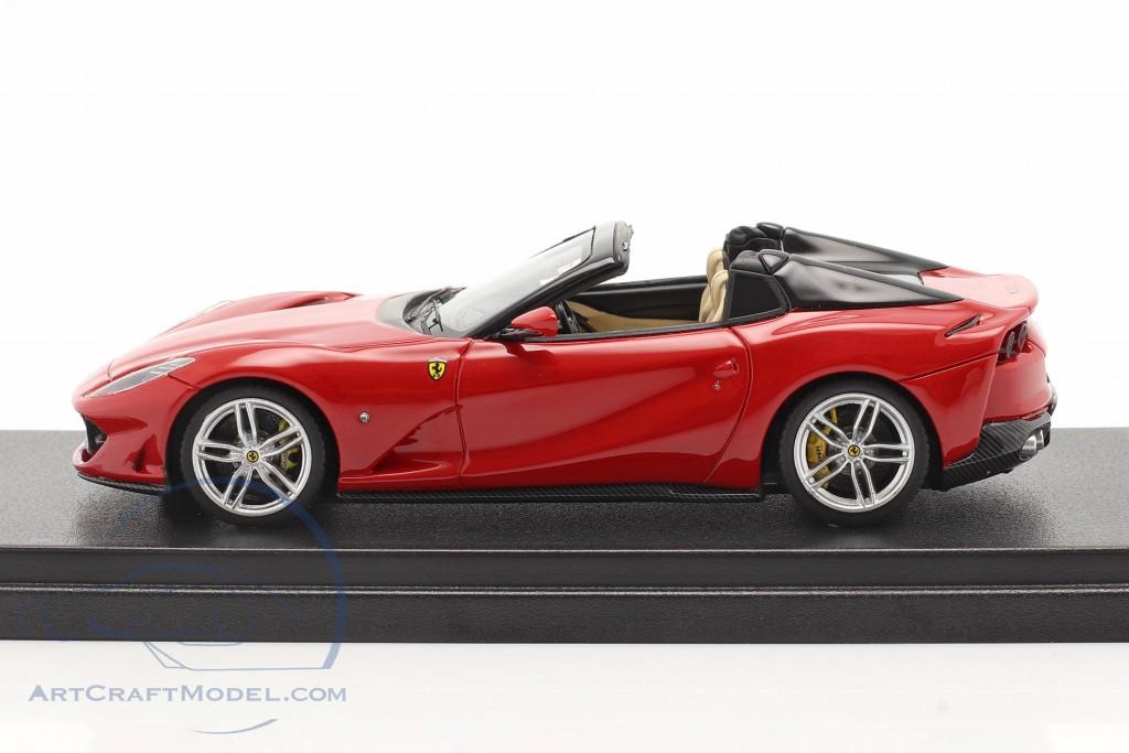 Ferrari 812 GTS Spider year 2019 corsa red