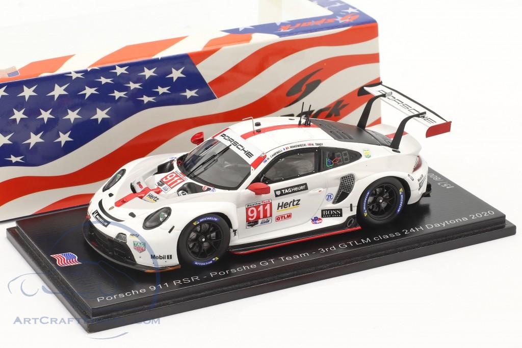 Porsche 911 RSR #911 3rd GTLM class 24h Daytona 2020 Porsche GT Team