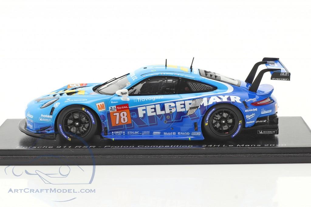 Porsche 911 RSR #78 24h LeMans 2020 Proton Competition