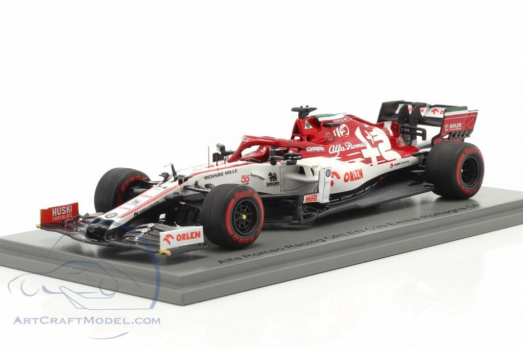 K. Räikkönen Alfa Romeo Racing C39 #7 Emilia-Romagna GP formula 1 2020