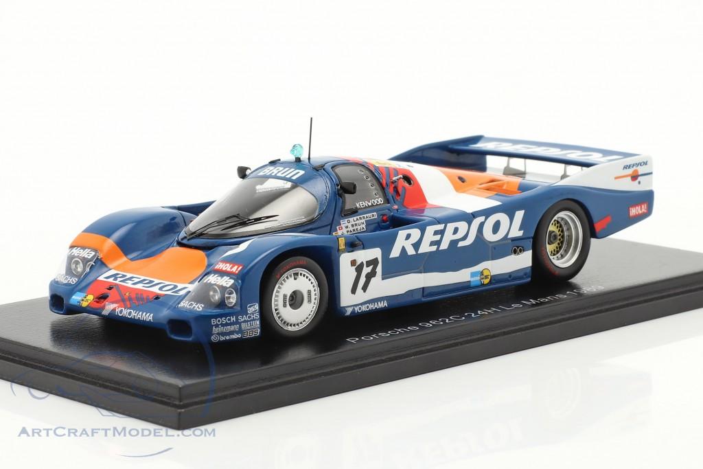 Porsche 962C #17 24h LeMans 1989 Brun Motorsport