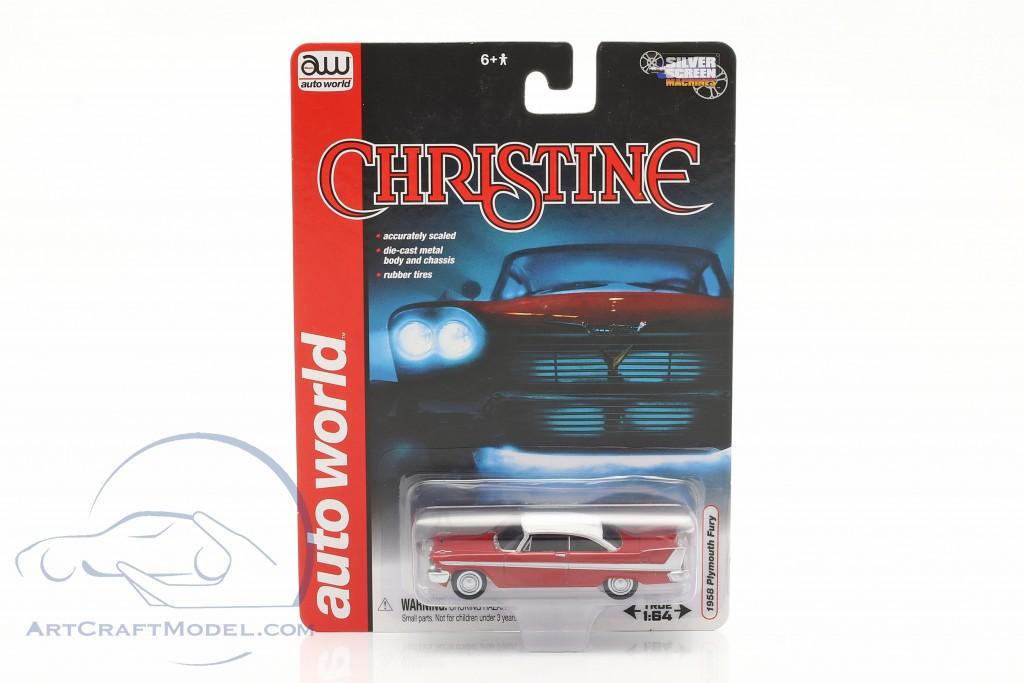 Plymouth Fury Movie Christine 1983 red / white
