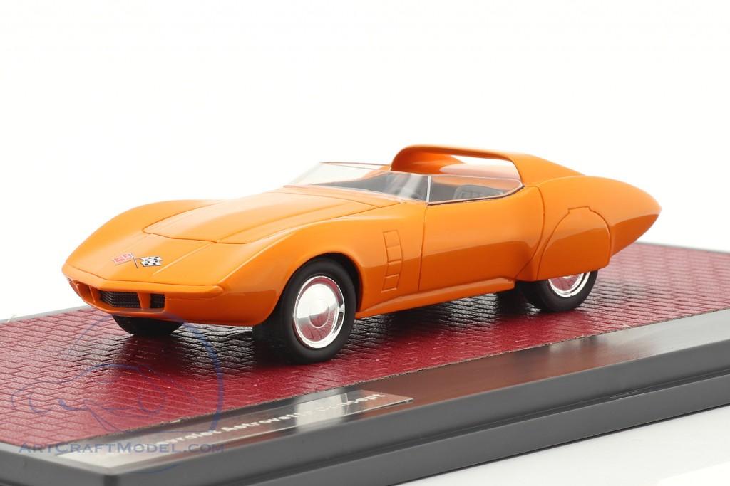 Chevrolet Astrovette Concept Car 1968 orange