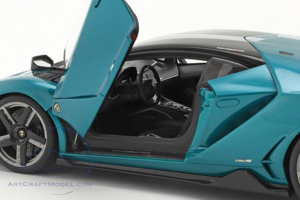 Lamborghini Centenario year 2016 artemis green