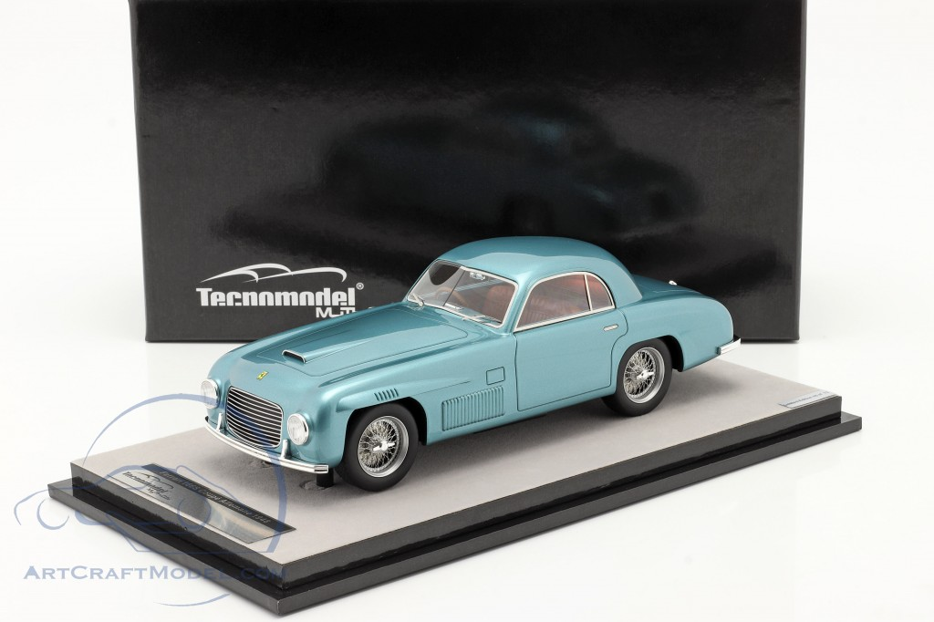 Ferrari 166S Coupe Allemano Street version 1948 blue metallic