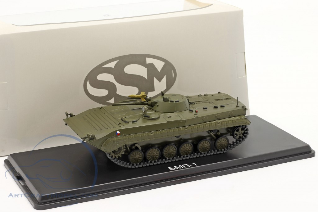 BMP-1 military (CZ) Armored personnel carriers dark olive  Start Scale Models