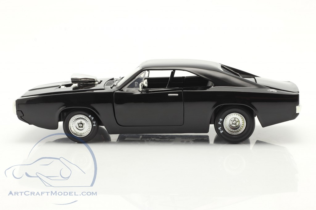 Dom's Dodge Charger 1970 Fast & Furious 9 (2021) black  Jada Toys