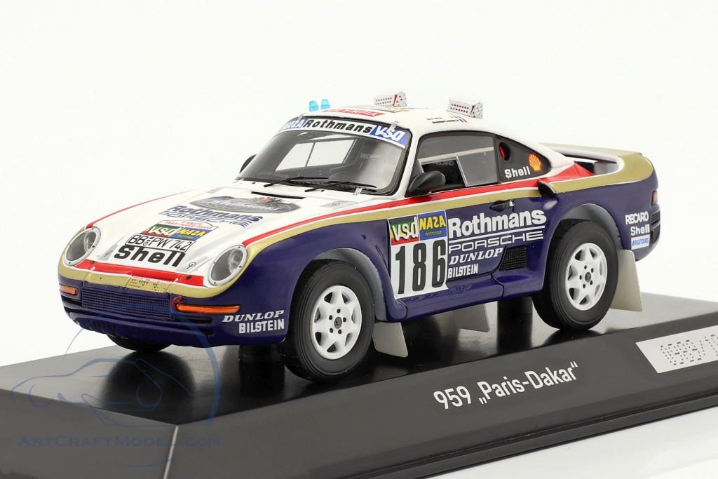 Porsche 959 #186 Winner Rallye Paris - Dakar 1986 Metge, Lemoyne