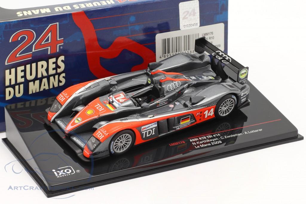 Audi R10 TDI #14 24h LeMans 2009 Karthikeyan, Zwolsman, Lotterer
