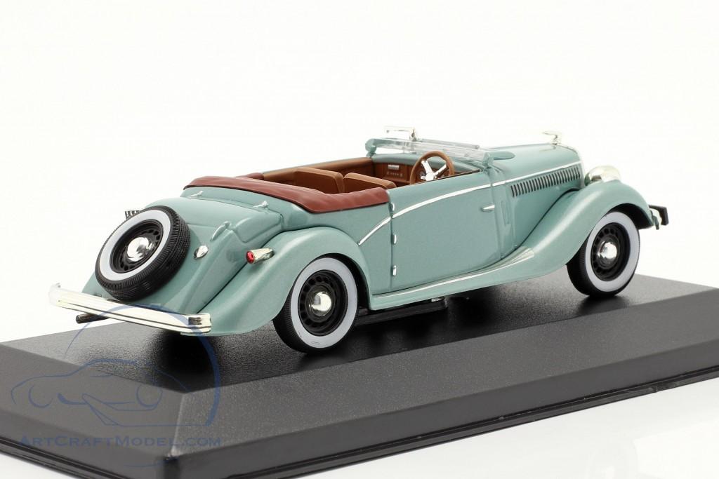 Salmson S4E year 1938 green metallic