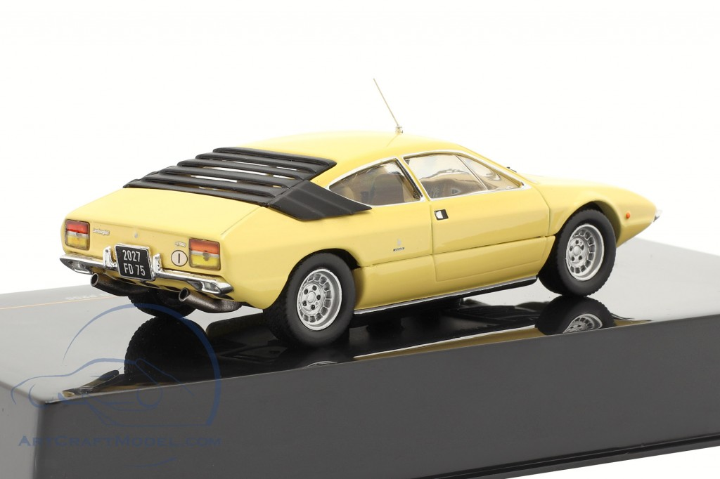 Lamborghini Urraco P250 1973   light yellow