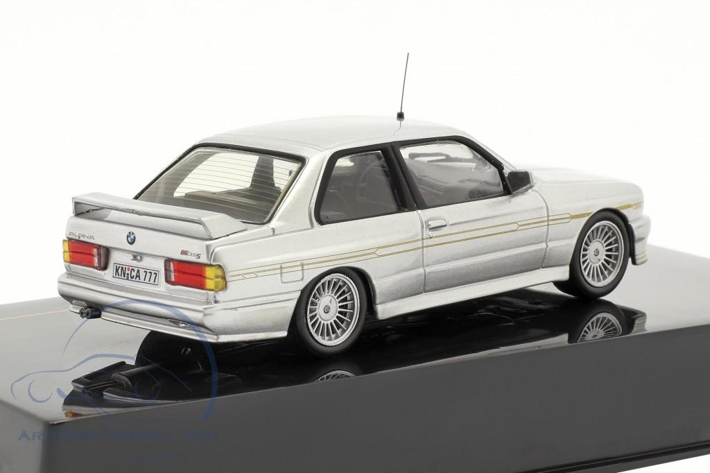 BMW Alpina B6 3.5S year 1989 silver metallic / silver metallic