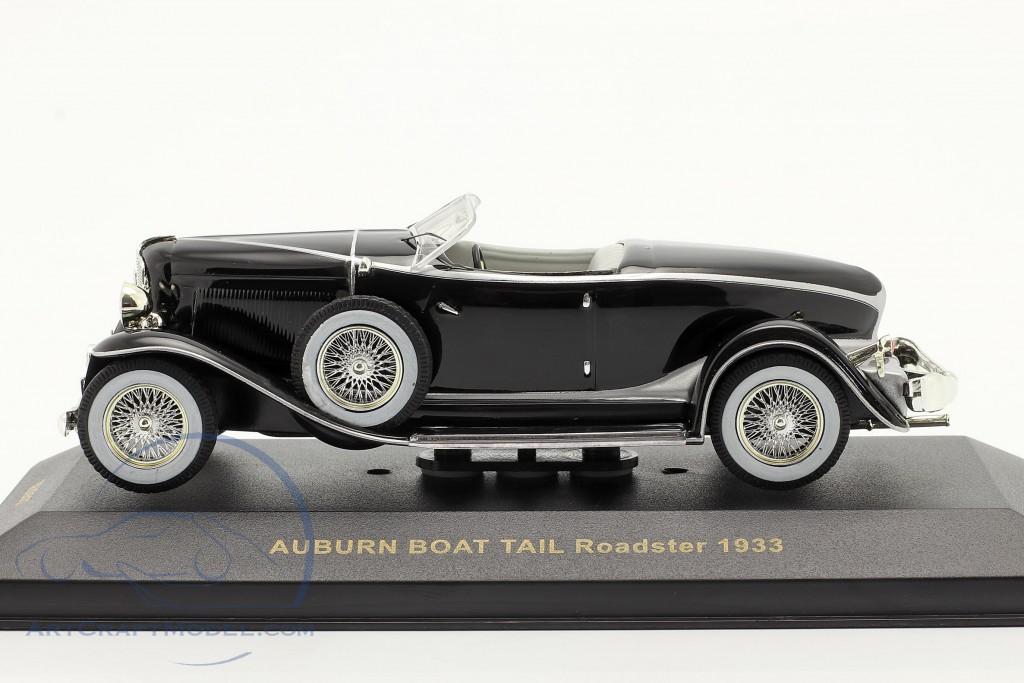 Auburn Boat Tail Roadster 1933 black