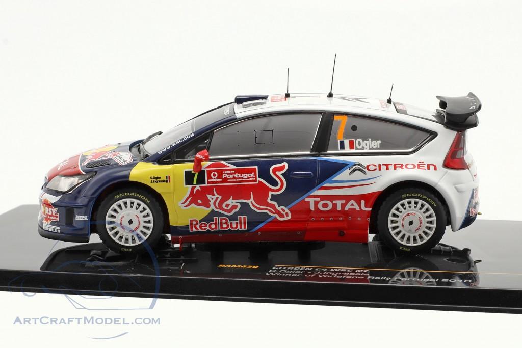 Citroen C4 WRC #7 Ogier, Ingrassia Winner Rally Portugal 2010