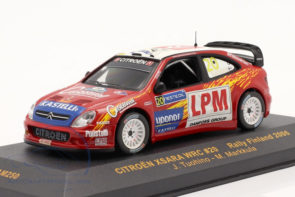 Citroen Xsara WRC #20 Rally Finland 2006