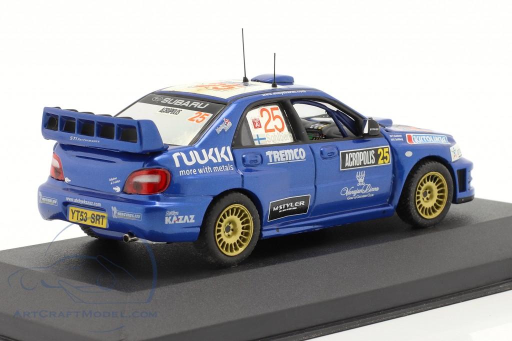 Subaru Impreza #25 Rally Acropolis 2005