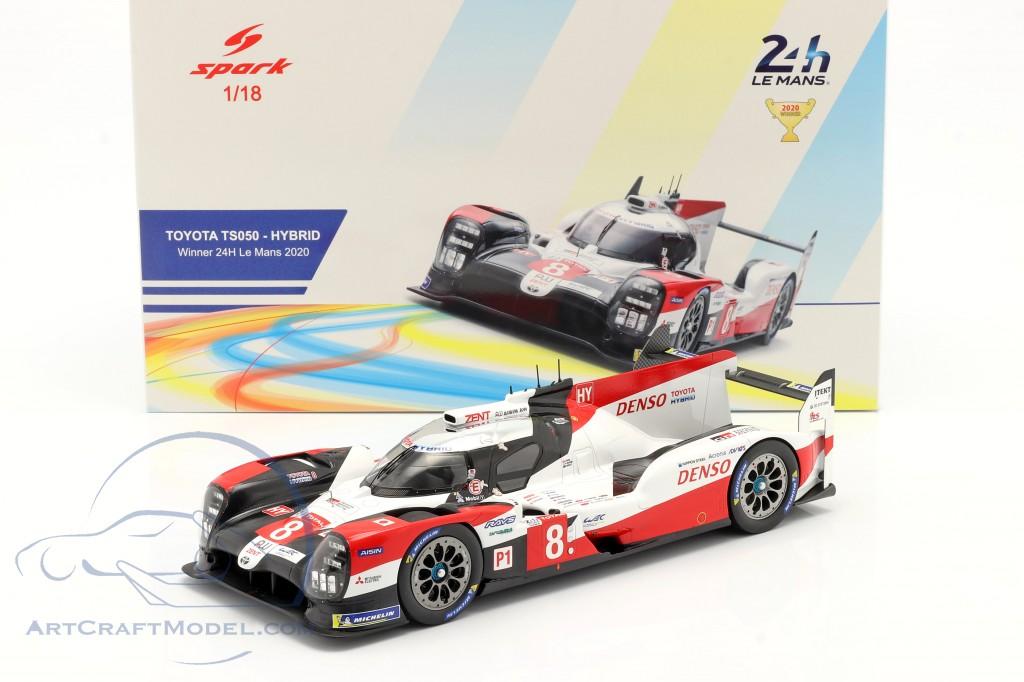 Toyota TS050 Hybrid #8 Winner 24h LeMans 2020 Buemi, Nakajima,Hartley