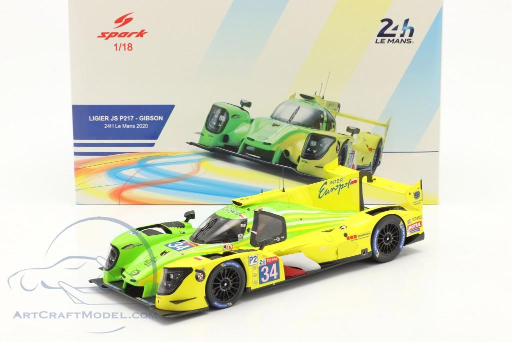 Ligier JS P217 #34 24h LeMans 2020 Binder, Isaakyan, Smiechowski