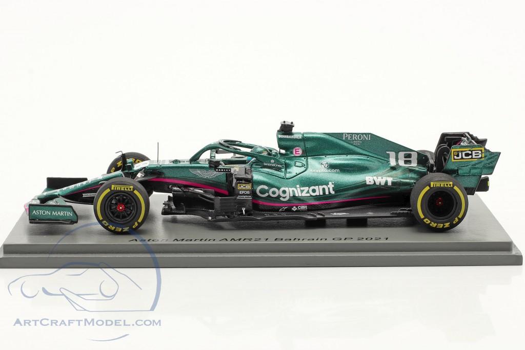 Lance Stroll Aston Martin AMR21 #18 Bahrain GP formula 1 2021