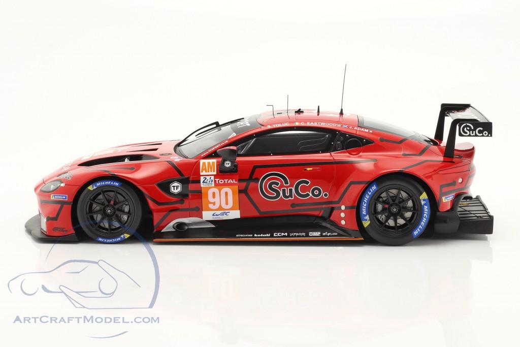 Aston Martin Vantage AMR #90 24h LeMans 2020 Adam, Eastwood, Yoluc 1:18