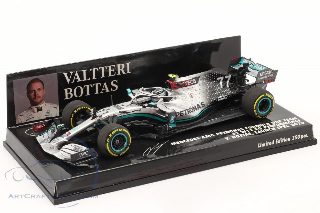 V. Bottas Mercedes-AMG F1 W11 #77 Launch Spec formula 1 2020