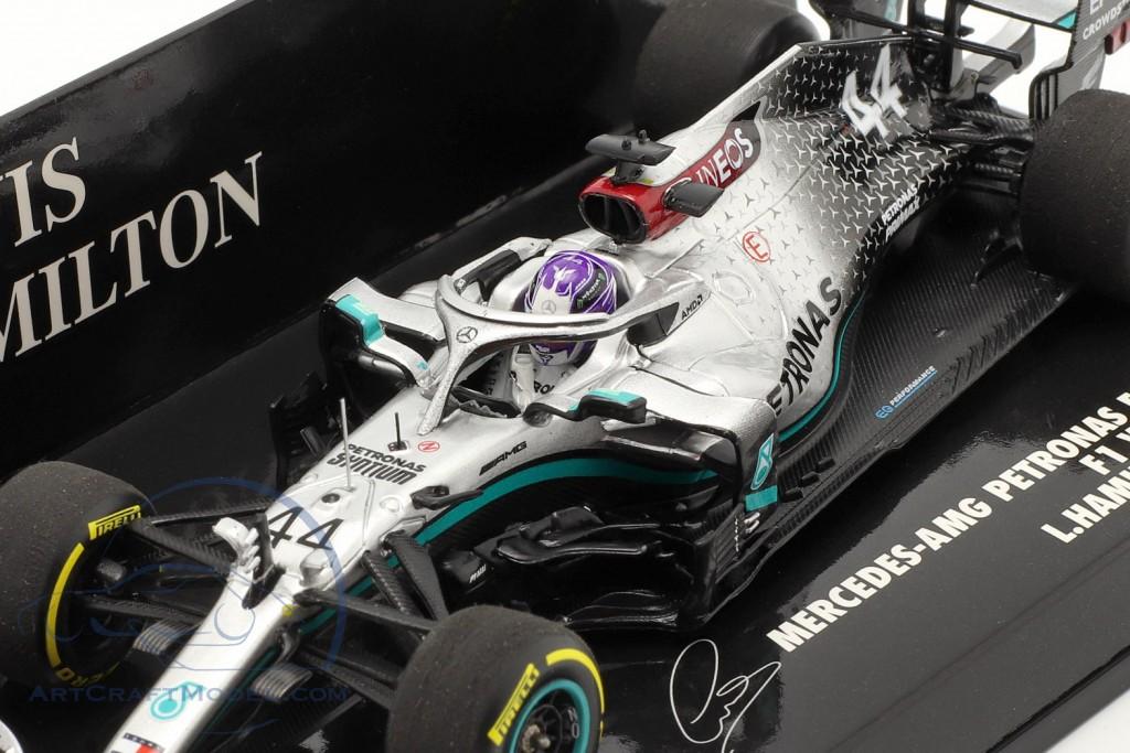 L. Hamilton Mercedes-AMG F1 W11 #44 Launch Spec F1 World Champion 2020