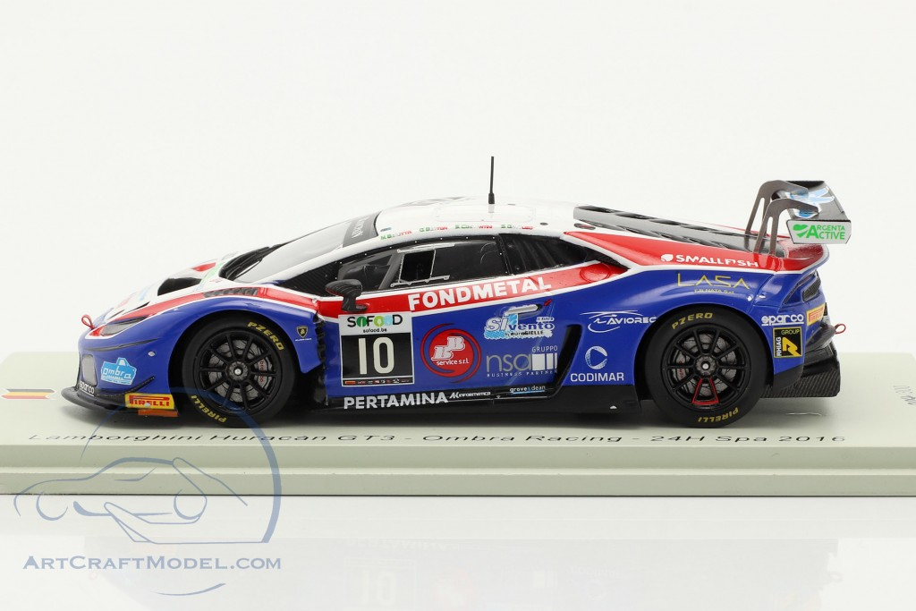 Lamborghini Huracan GT3 #10 24h Spa 2016 Ombra Racing