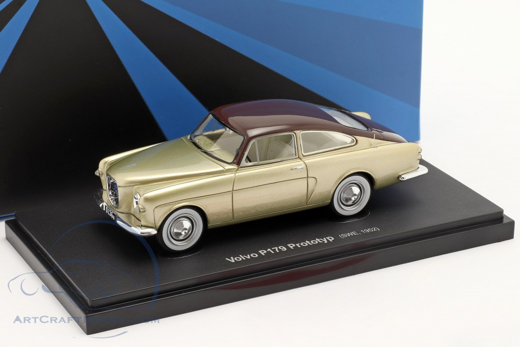 Volvo P179 Prototype year 1952 gold / brown