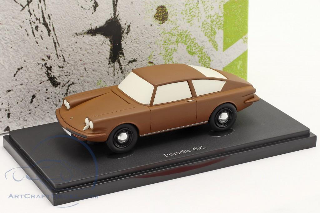 Porsche 695 year 1957 brown