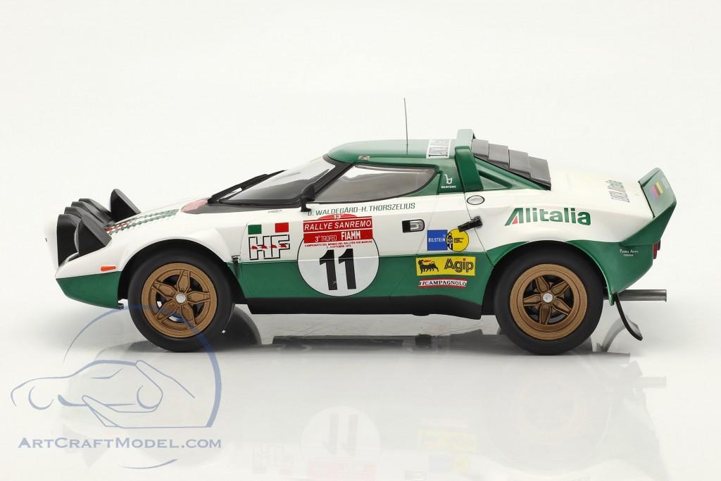 Lancia Stratos HF #11 Winner Rally San Remo 1975 Waldegard,Thorszelius