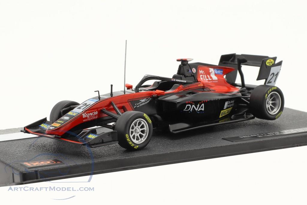 Richard Verschoor Dallara F3 MP Motorsport #21 Winner Macau GP F3 2019