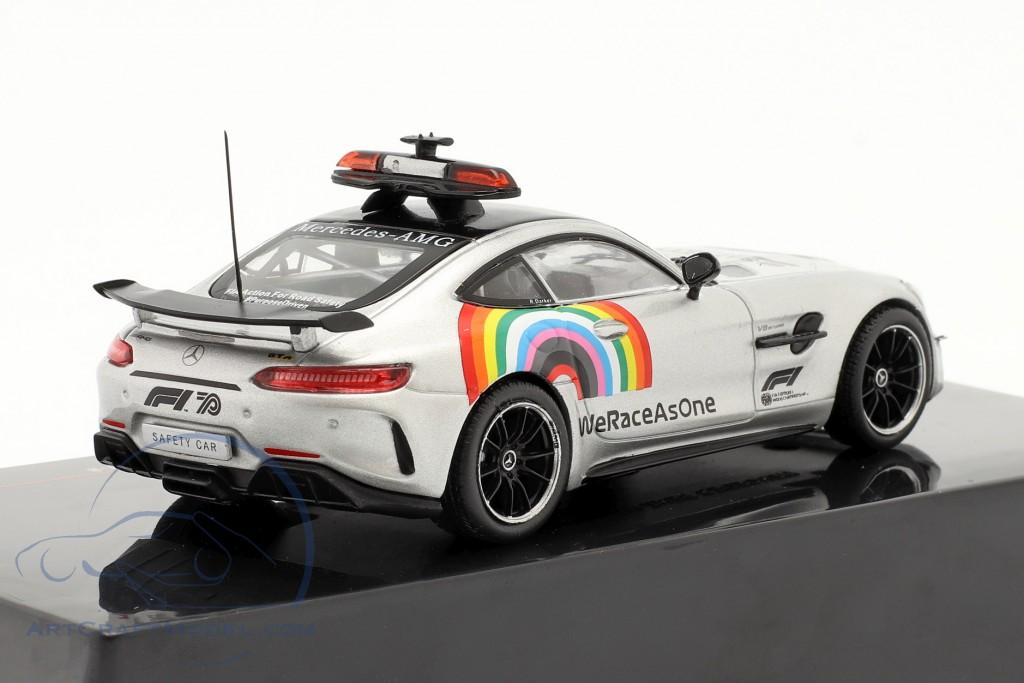 2-Car Set: Mercedes-Benz AMG GT-R Safety Car formula 1 2020