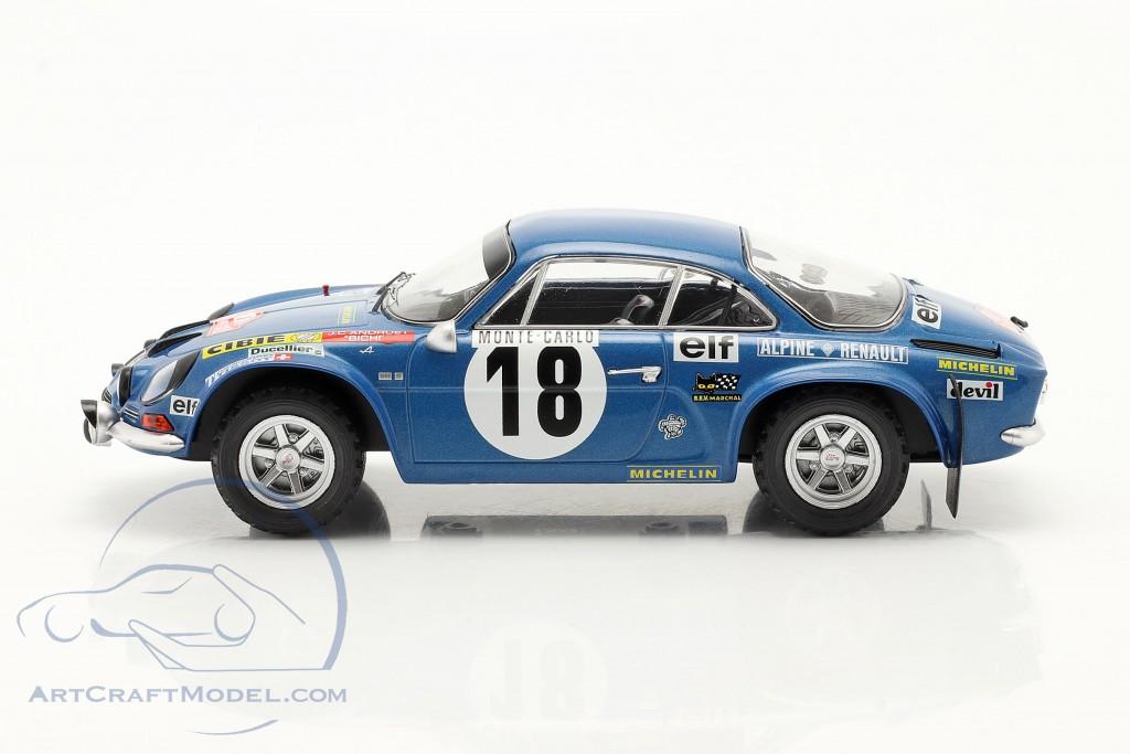 Alpine Renault A110 #18 Winner Rally Monte Carlo 1973 Andruet, Biche