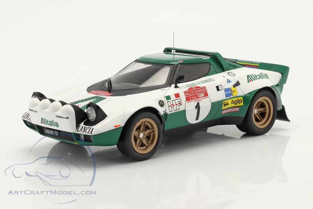 Lancia Stratos HF #1 Rally San Remo 1975 Munari, Mannucci