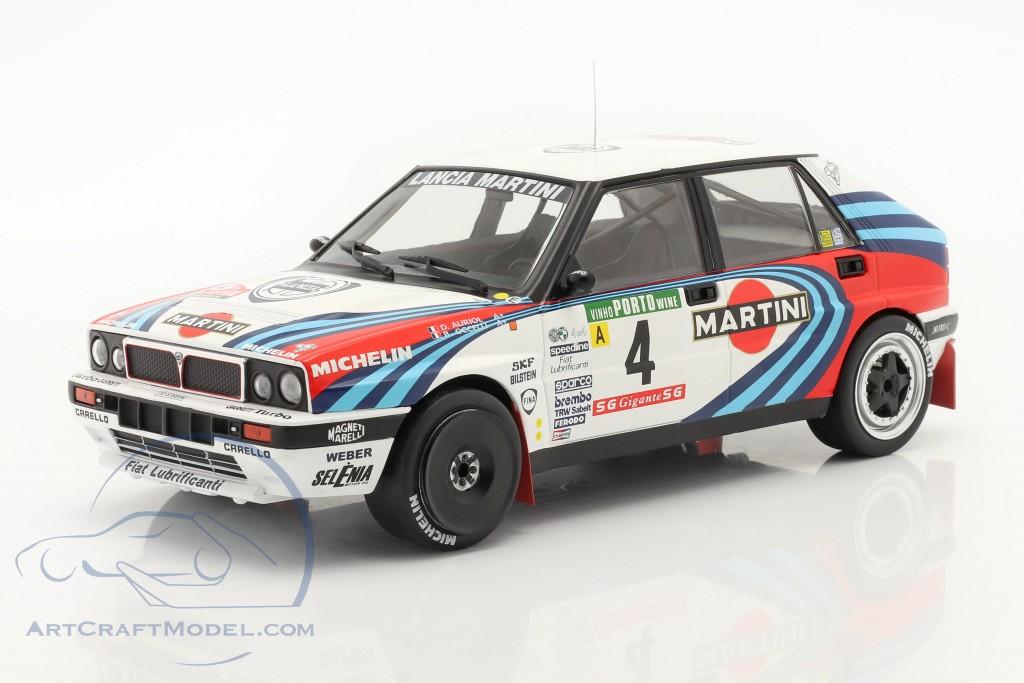 Lancia Delta Integrale 16V #4 2nd Rally Portugal 1990 Auriol, Occelli