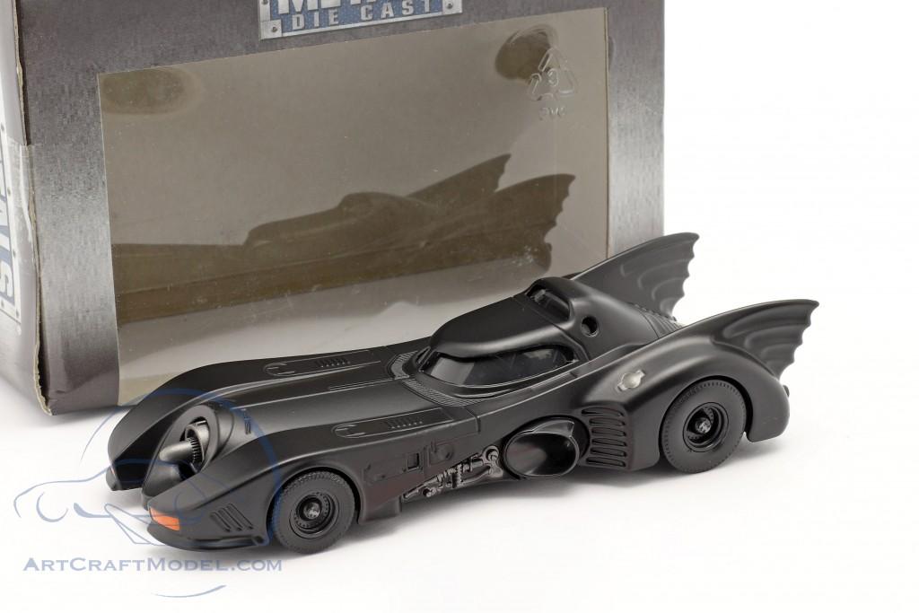 Batmobile Movie Batman (1989) mat black  Jada Toys