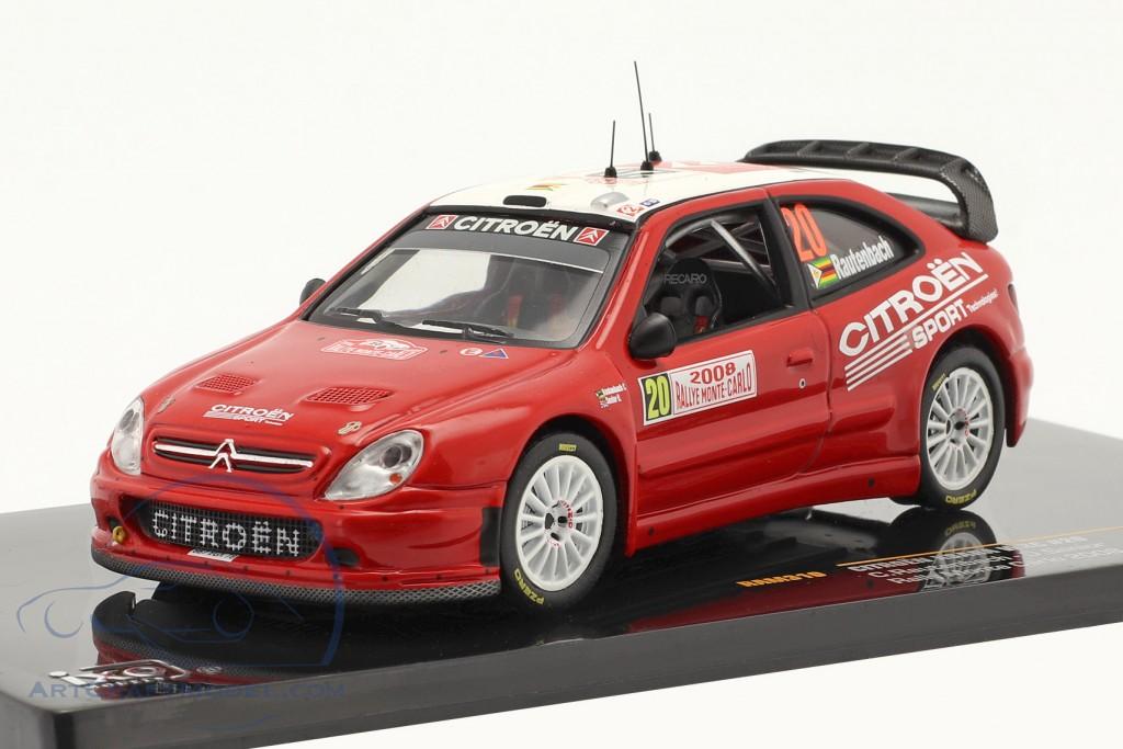 Citroen Xsara WRC #20 Rally Monte Carlo 2008
