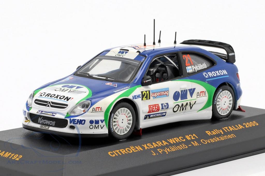 Citroen Xsara WRC #21 Rally Italia 2005