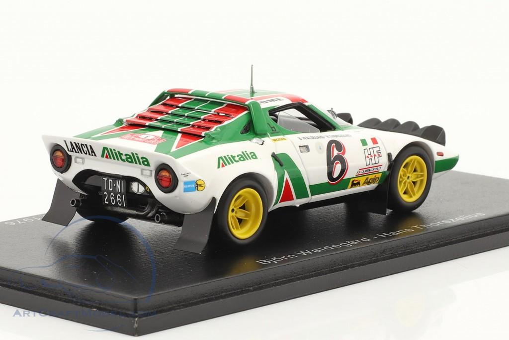 Lancia Stratos HF #6 2nd Rallye Monte Carlo 1976 Waldegard, Thorszelius