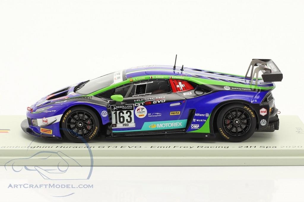 Lamborghini Huracan GT3 Evo #163 24h Spa 2020 Emil Frey Racing