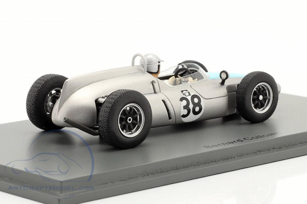Bernard Collomb Cooper T53 #38 German GP formula 1 1961
