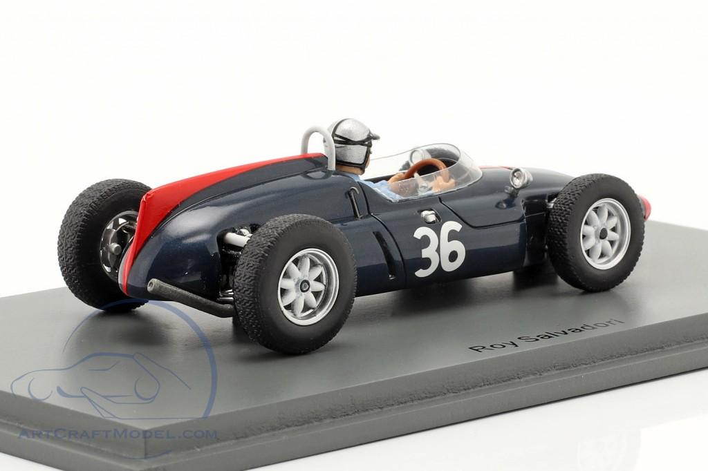 Roy Salvadori Cooper T53 #36 6th British GP formula 1 1961